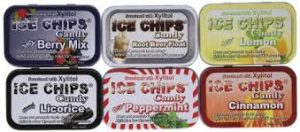 Ice Chips sugarless candy